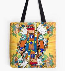 Fancy feather dancer #floral Tote Bag