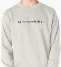 John Mayer Schwerkraft Zitat Sweatshirt