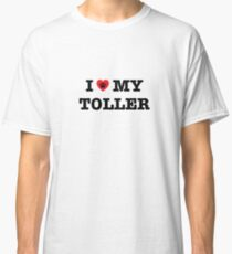 I Heart My Toller Classic T-Shirt