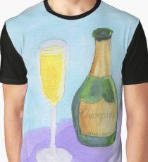 Champagne Celebrate Congratulations Graphic T-Shirt
