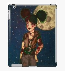 Goth Girl at Night iPad Case/Skin