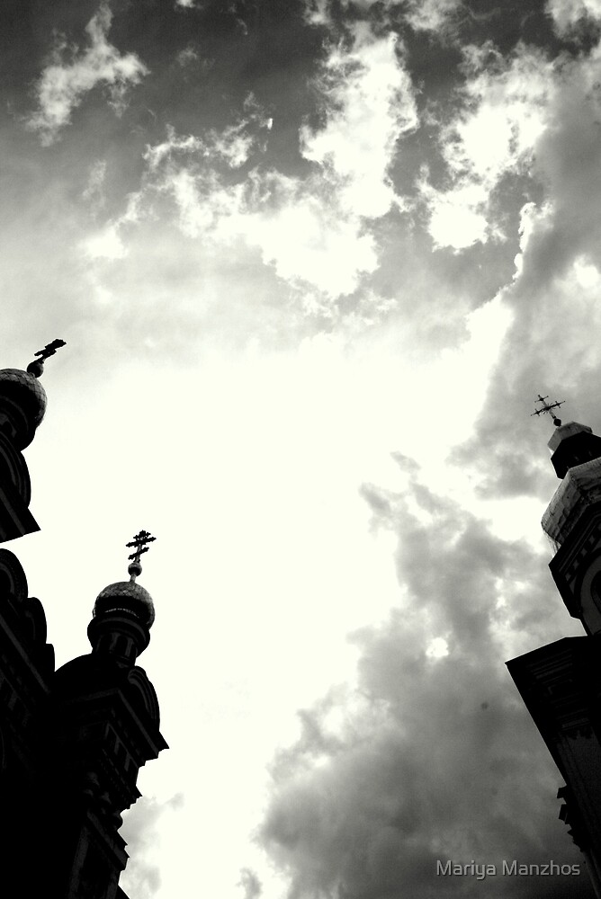 Skies over Pechers'ka Lavra #2 by Mariya Manzhos