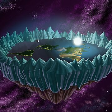 The Flat Earth by chrismoet