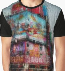 Controlled Chaos and Colour - Shinjuku Graphic T-Shirt