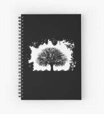 Einsamer Baum Spiralblock