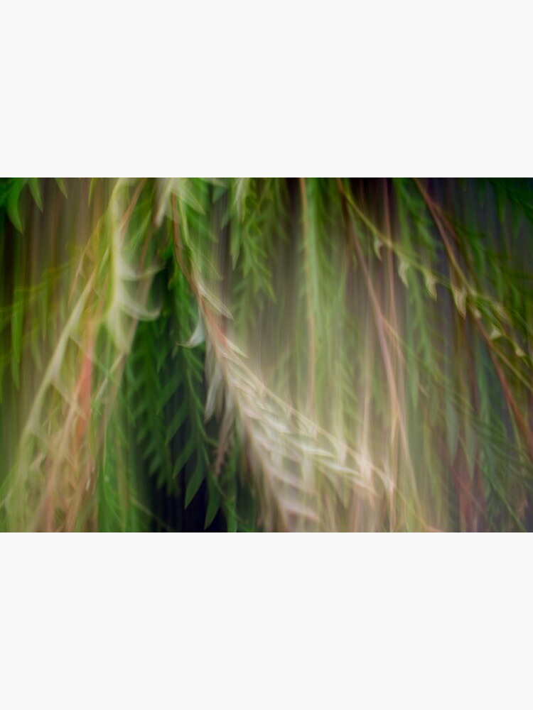 Fleur Blur Series-Abstract Decorative Leaves by AhUmDesign