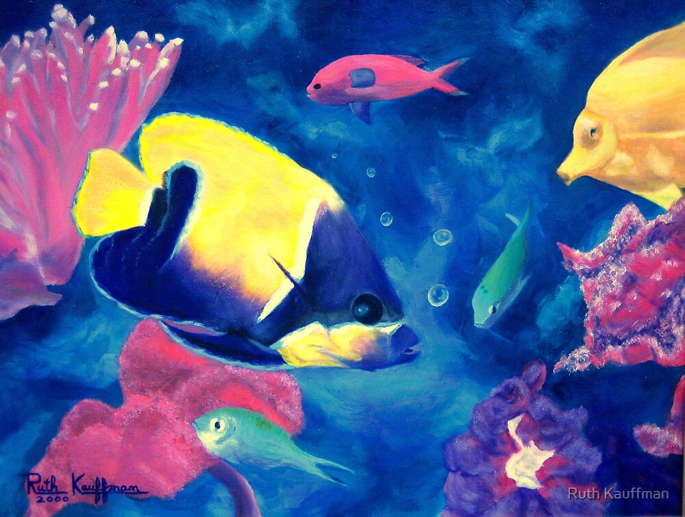 """Sea Gathering"" by Ruth Kauffman"