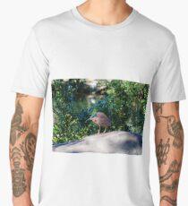 Night Heron Men's Premium T-Shirt