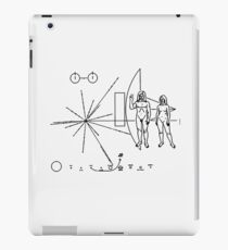 We Come in Peace - A Hippy Message to Alien Civilizations iPad Case/Skin