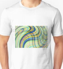 Tartan wave T-Shirt