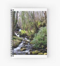 Downhill Forest Spiral Notebook