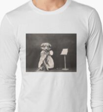 Puppy playing violin or cello? T-Shirt