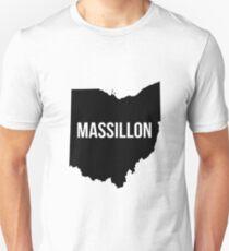 Massillon, Ohio Silhouette T-Shirt