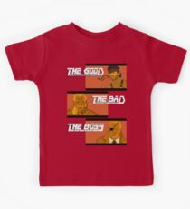 The Good, The Bad and The Boss - A Metal Gear Movie Kids Clothes
