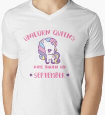 Unicorn Queens are born in SEPTEMBER T-Shirt