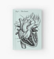 das Herz Notizbuch
