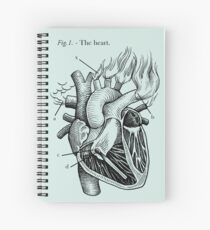 The Heart Spiral Notebook