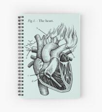 das Herz Spiralblock