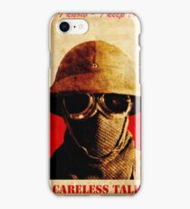 Fallout New Vegas : Careless Talk Costs Lives Poster iPhone Case/Skin