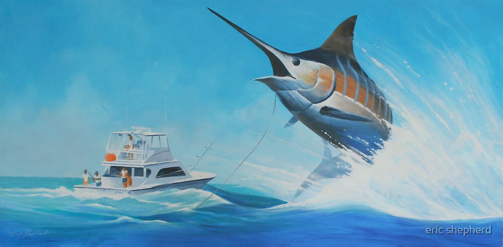 The big blue catch by eric shepherd