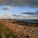 Renvyle coastline view by John Quinn