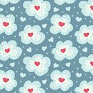Winter Hearts And Snow Clouds by Boriana Giormova