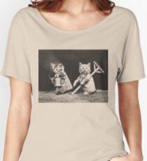 Farming kittens Women's Relaxed Fit T-Shirt