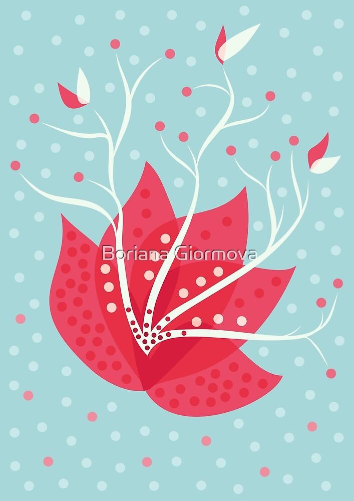 Exotic Winter Flower by Boriana Giormova
