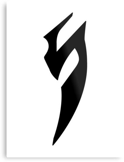 Quot Blade Of Marmora Logo Emblem Sign Black Quot Metal