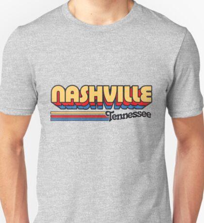Nashville, TN   City Stripes T-Shirt