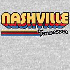 Nashville, TN | City Stripes by retroready
