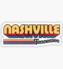 Nashville, TN | City Stripes Sticker