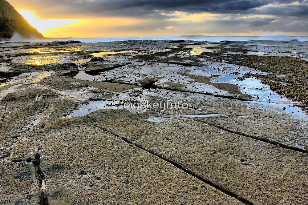 Sunrise at Susan Gilmore Beach  by monkeyfoto