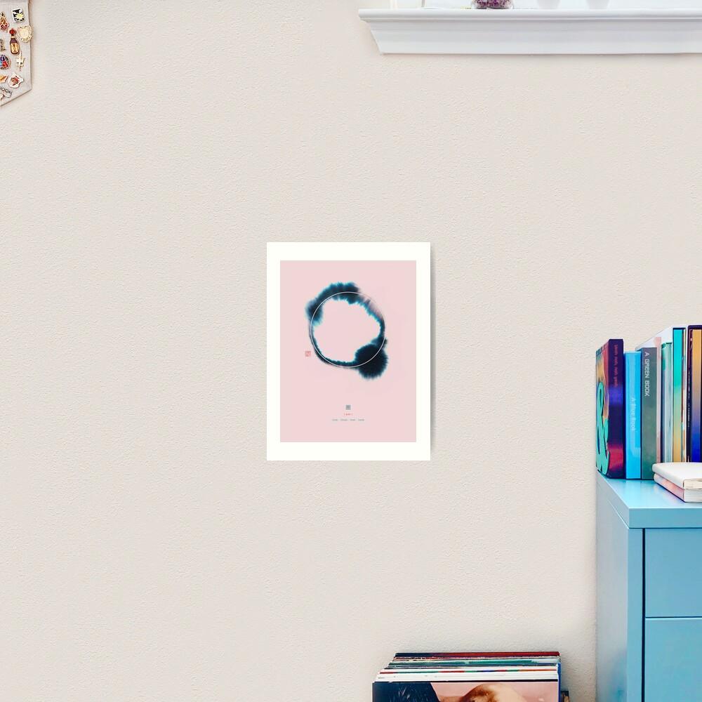 Circle n°2 Art Print