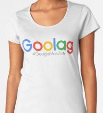 goolag #googlemanifesto Women's Premium T-Shirt