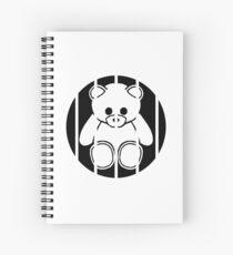 6black Spiral Notebook