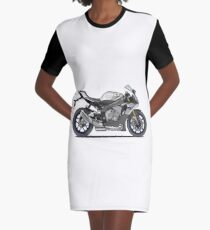 Yamaha YZF-R1M Supersport Motorcycle Graphic T-Shirt Dress