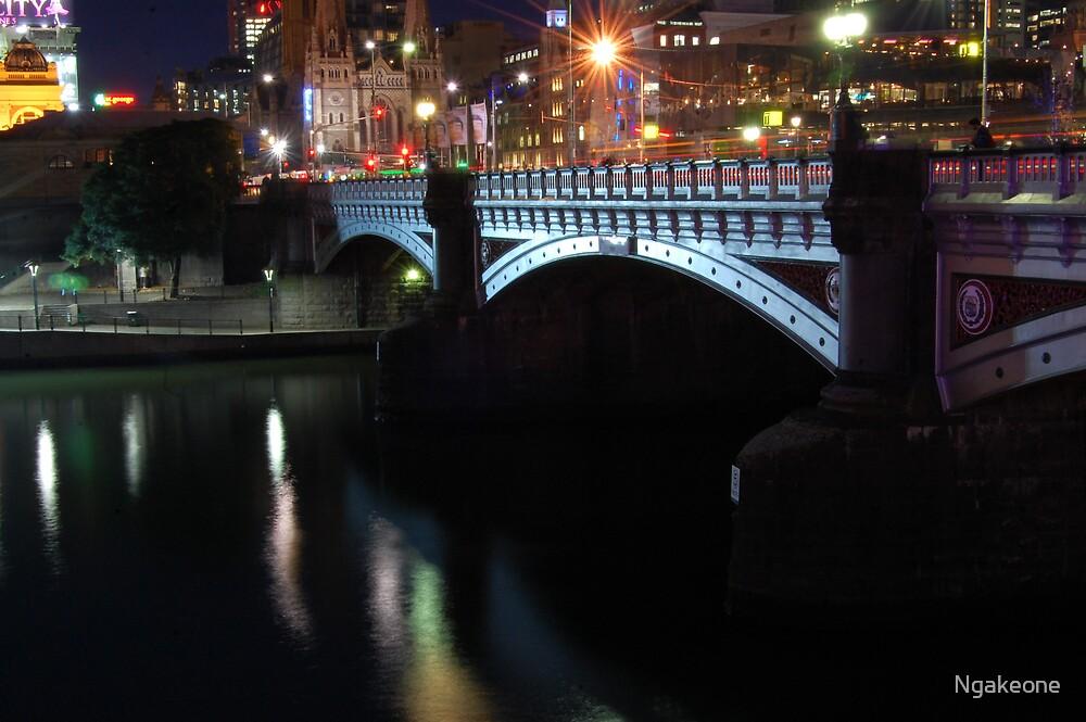 Princess Bridge by Ngakeone