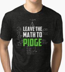 """Camiseta de tejido mixto """"Deja las matemáticas a Pidge"""" - Keith - Klance - Voltron"""