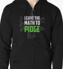 """Leave the math to Pidge"" - Keith - Klance - Voltron Zipped Hoodie"