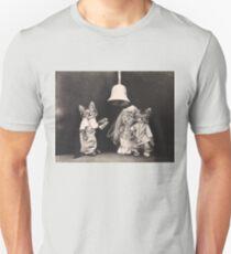 Kittens getting married under a bell T-Shirt