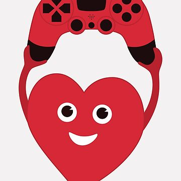 Gamer Heart by azzza