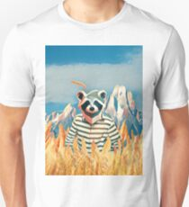 Racoon in the wheat field T-Shirt