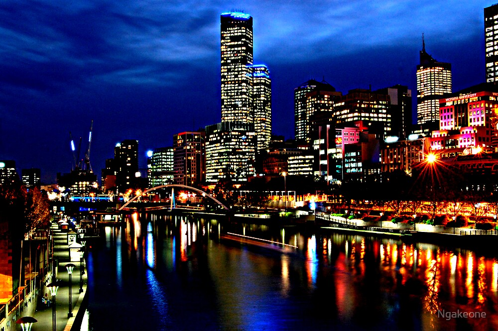 Melbourne Polarised by Ngakeone