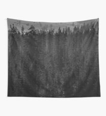 Pine scenery Wall Tapestry