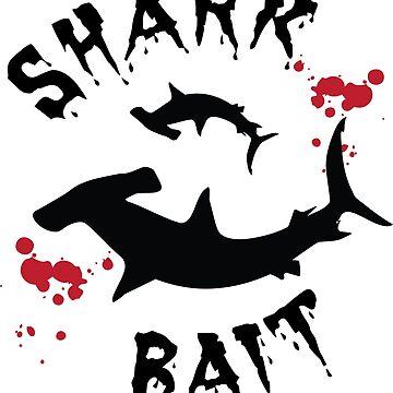 Shark Bait Hammerhead Shark Cage Diving Design by CreativeTwins