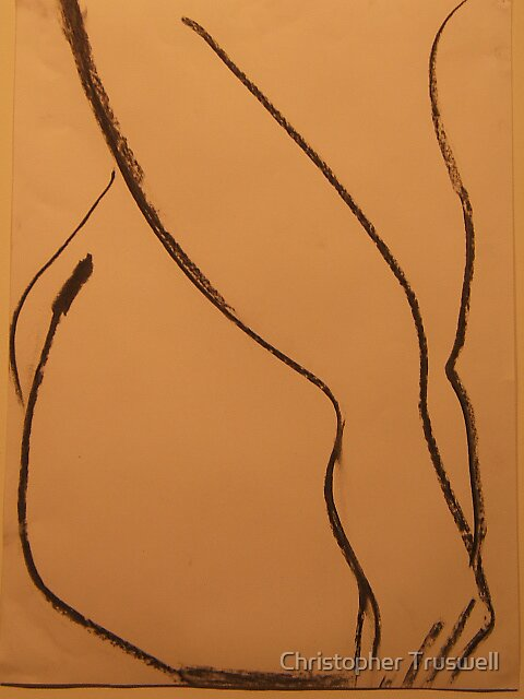 nude line 1 by Christopher Truswell