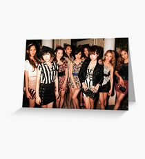 SNSD Greeting Card