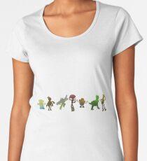 Toys Inspired Silhouette Women's Premium T-Shirt