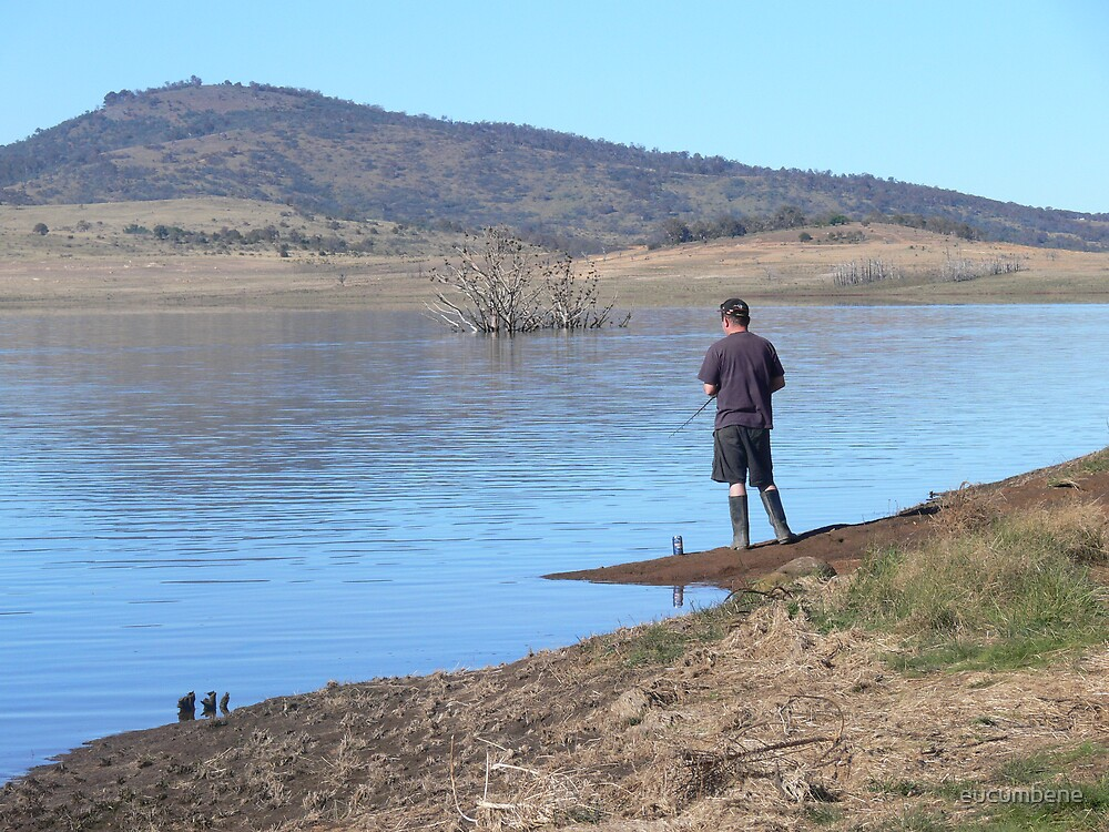 """""""On my own again"""" (Lake Eucumbene) by eucumbene"""